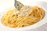 豆腐のクリームゴマパスタの作り方4