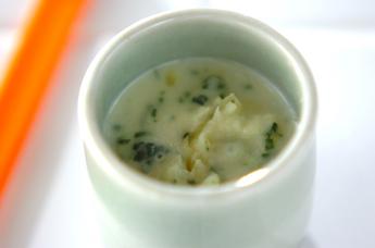 サツマイモのミルク煮