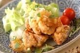 揚げ鶏おろしソース