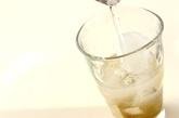 梅酒ジンジャーソーダーの作り方1