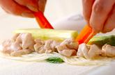 素麺春巻きの作り方2