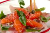 刺身のカルパッチョの作り方2