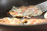 アサリと桜エビのお焼きの作り方2
