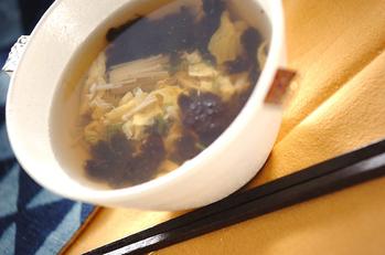 磯の香り卵スープ