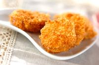 サツマイモのチーズサンドフライ