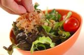 ミツバのカリカリジャコサラダの作り方4