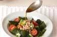 ワカメとツナのサラダの作り方2