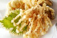 キノコの天ぷら