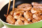 鶏肉のスパイス炒め煮の作り方1