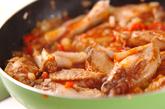鶏肉のスパイス炒め煮の作り方2