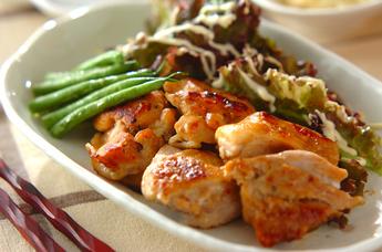 鶏もも肉のマリネ焼き
