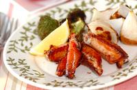 鶏とカブのシンプルオーブン焼き