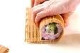 梅巻き寿司の作り方7