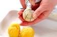 サツマイモの茶巾絞りの作り方3