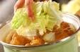 揚げ天と白菜の煮物の作り方2