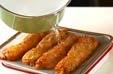 揚げ天と白菜の煮物の下準備1