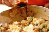 レタス包み納豆チャーハンの作り方5