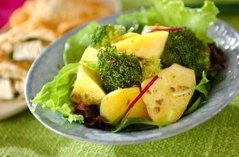 サツマイモのクミン風味サラダ