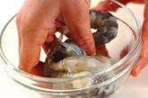エビと豆腐のオイスターソース炒めの作り方1