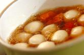 冷凍里芋の煮っころがしの作り方1