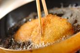 バジル風味ハムカツの作り方3