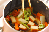 白菜とさつま揚げのくったり煮の作り方2
