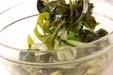 ワカメ甘酢和えの作り方1