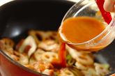 鶏とレンコンのみそ炒めの作り方2
