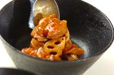 鶏とレンコンのみそ炒めの作り方3