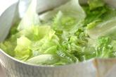 レタスとエビのオイスター炒めの作り方1