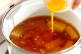 豆腐のヘルシースープの作り方1