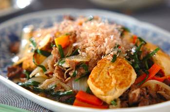豆腐の炒め煮