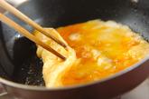 鮭入り卵焼きの作り方2