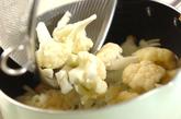 カリフラワーのポタージュスープの作り方1