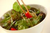ヘルシーグリーンサラダの作り方2