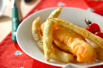 白身魚のフリット