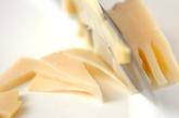 タケノコとツナの混ぜご飯の下準備1