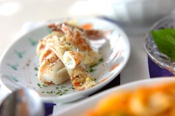 イカのチーズ焼き