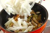 冬瓜と豚肉の炒め煮の作り方2
