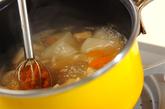 小カブのみそ汁の作り方3