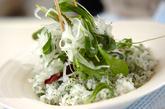 キハダマグロのイタリアン丼の作り方2