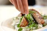 キハダマグロのイタリアン丼の作り方3