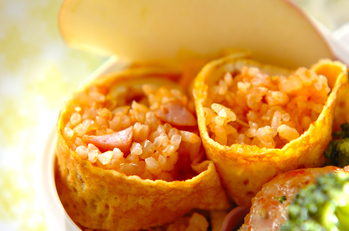 オムライス巻き寿司