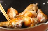 鶏手羽とゴボウのトマトチーズ煮の作り方1