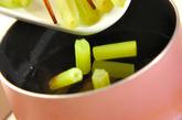 フキとゴボ天の煮物の作り方2