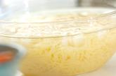 トマトとツナの冷製バジルパスタの作り方2