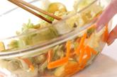 春キャベツポン酢和えの作り方1