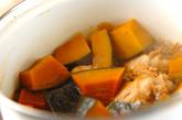 手羽元とカボチャの煮物の作り方2
