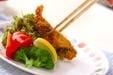 鶏巻きエビフライの作り方3