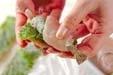 鶏巻きエビフライの作り方1
